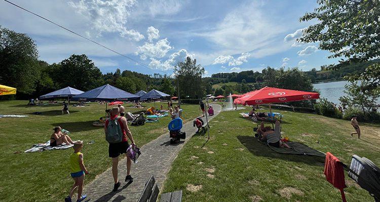 Gummersbach: Naturfreibad Strandbad Bruch ab sofort geöffnet! Baden mit Abstand! (Fotoserie)