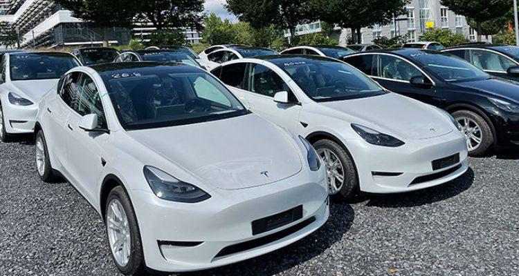 Neuer Elektroauto-Rekord in Schweden: Tesla Model Y führt die Liste an